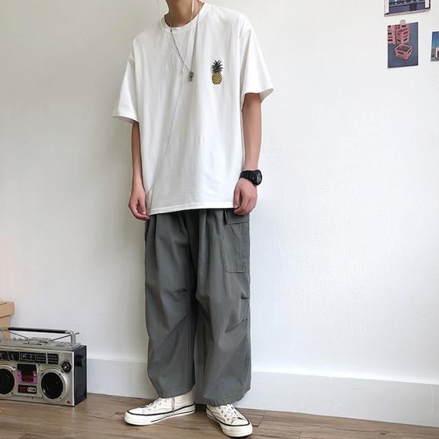 【ユニセックス】ワンポイントフルーツTシャツ M-2XL
