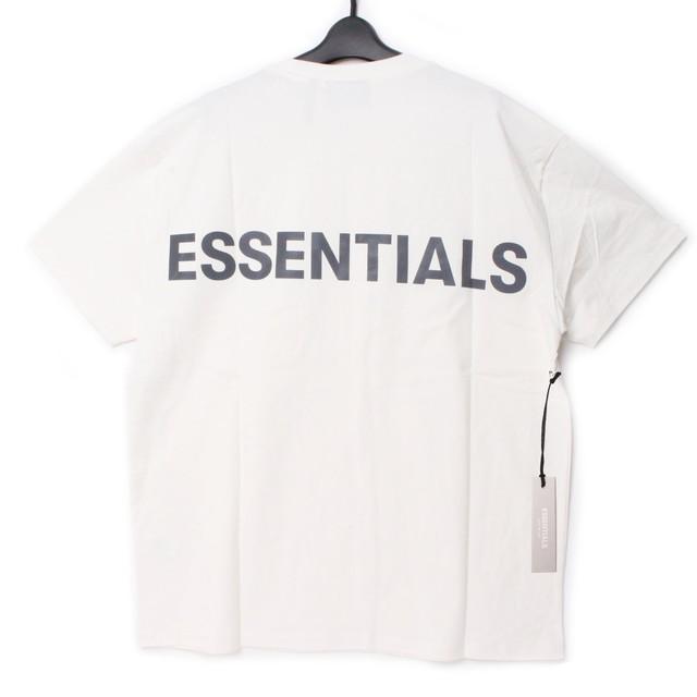 Fear Of God Essentials フィアオブゴッド エッセンシャルズ バックロゴ Tシャツ M[全国送料無料] r017348