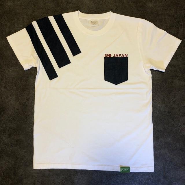 GO JAPAN T-SHIRTS (WHITE)