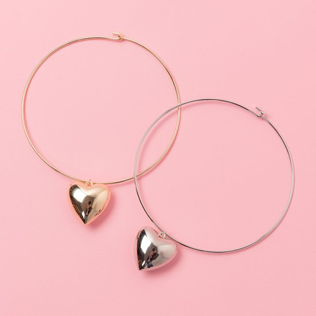 LOVE WIRE NECKLACE(VN1706021)