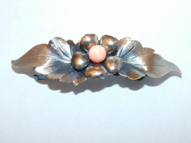 蒔絵の櫛と笄 Urushi lacquer work ornamental comb and hair pin(No18))