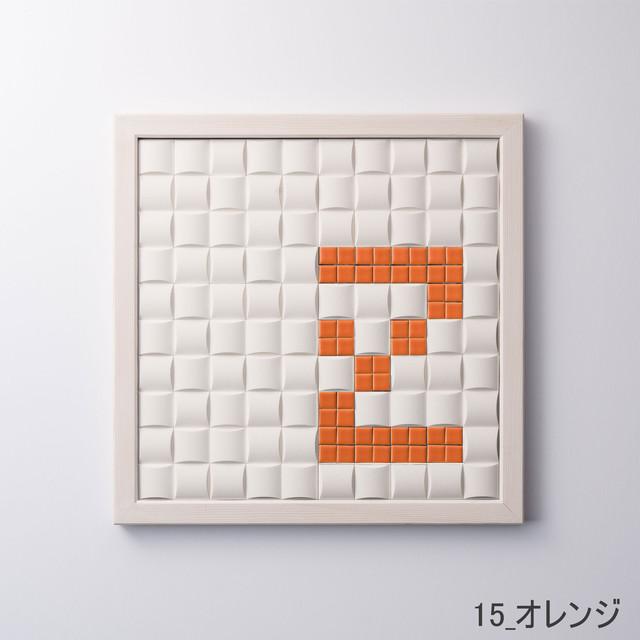 【Z】枠色ホワイト×セラミック インテリア アートフレーム 脱臭調湿(エコカラット使用)