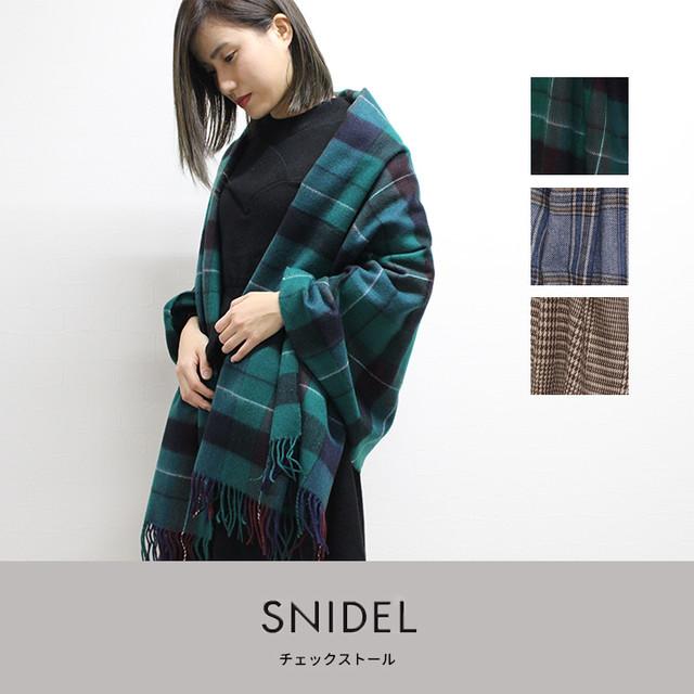 snidel   チェックストール (SWGG185641)