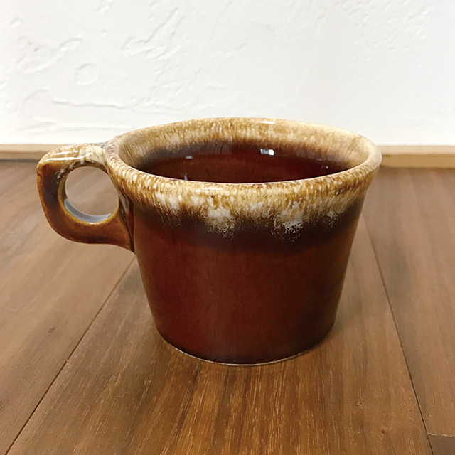 Hull Pottery Brown Mug