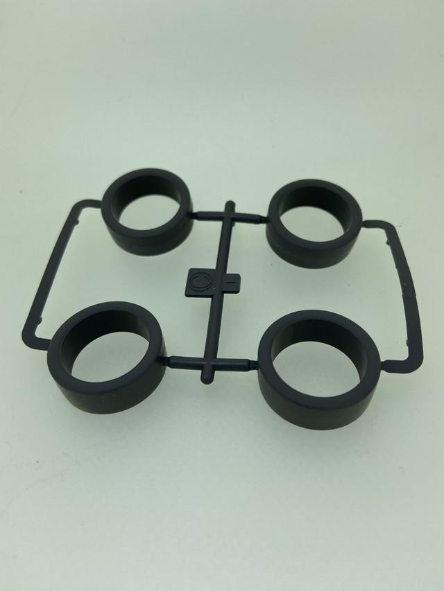 小径ローハイトタイヤ ハード (シルバー)