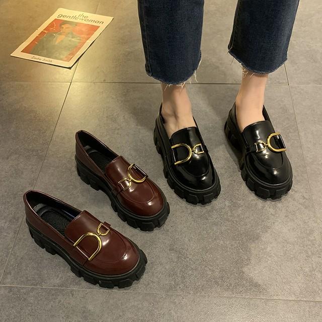 レディース革靴  カジュアルシューズ SHS512101