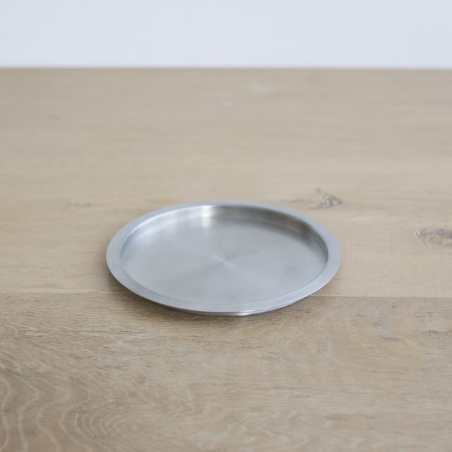 yumiko iihoshi porcelain / stainless coaster / size L