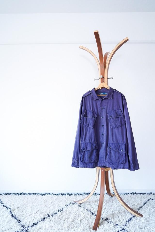 """【1990s-2000s】""""Polo by Ralph Lauren"""" 1st Type Motif Jungle Fatigue JKT / v557"""