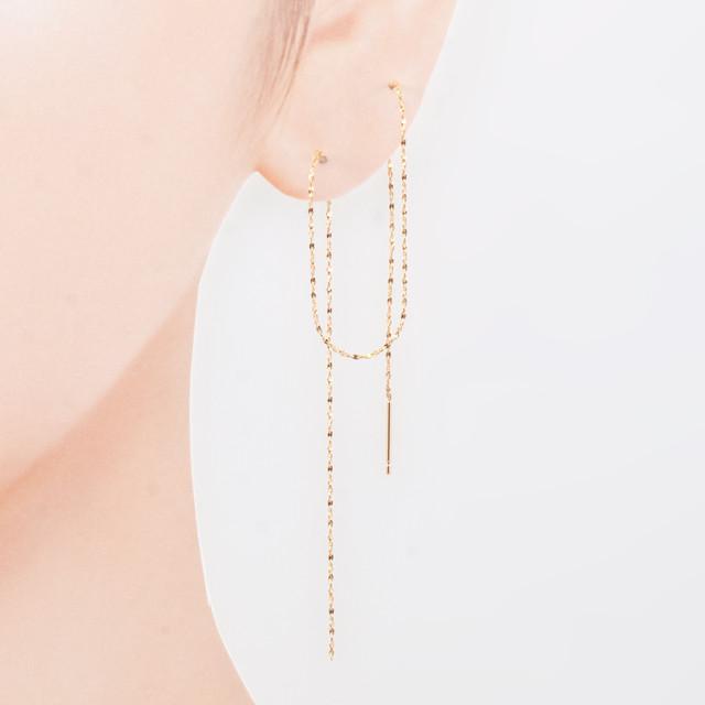 Line earring / Single