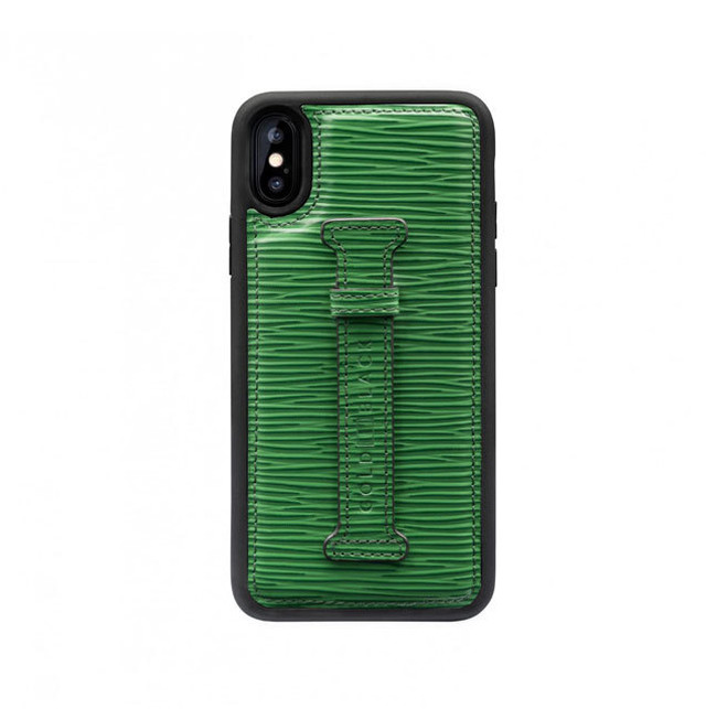 GOLDBLACK(ゴールドブラック) X / XS FINGER-HOLDER CASE UNICO GREEN