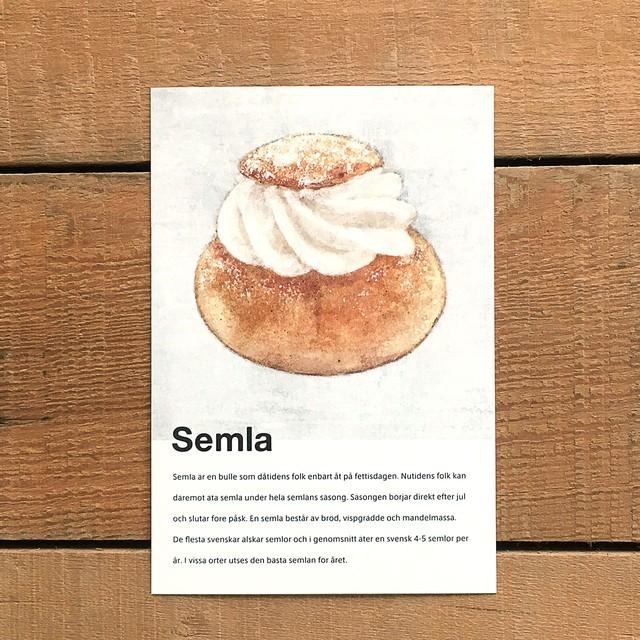 ポストカード「Semla(セムラ)」