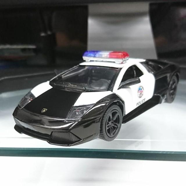 KiNSMART ランボルギーニ ムルシエラゴ LP640 ポリスカー