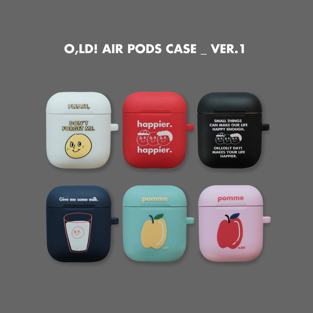 [OH,LOLLY DAY!] O,LD! AirPodsケース (全3色)
