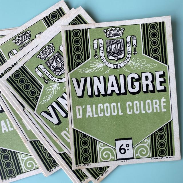 France ヴィンテージラベル(VINAIGRE ) /  vp0122