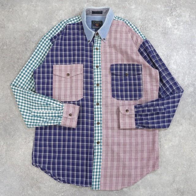 CHAPS  Ralph Lauren crazy pattern shirt