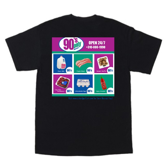 90's Only Store Graphic Tee