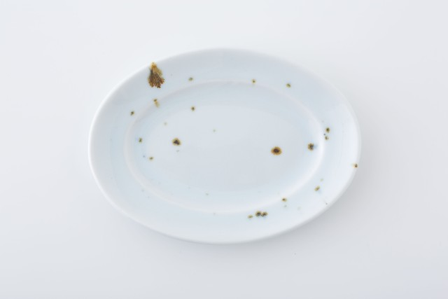 リム楕円皿:05 / 人見 和樹