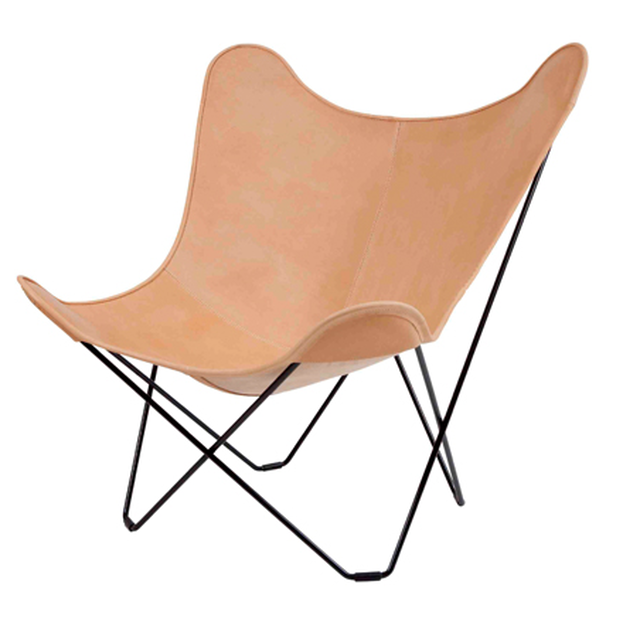 BKF BUTTERFLY CHAIR MARIPOSA NATURAL LEATHER