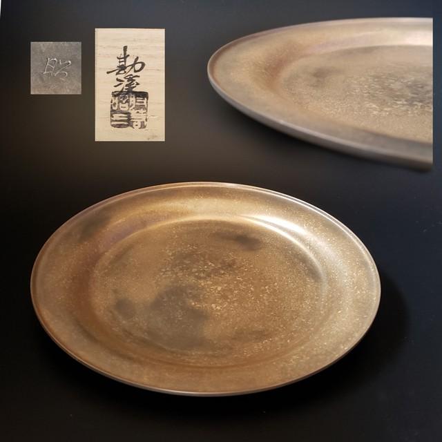 茶道具 時代 和蘭陀 オランダ 染付 菓子鉢 木箱入 アンティーク 美術品