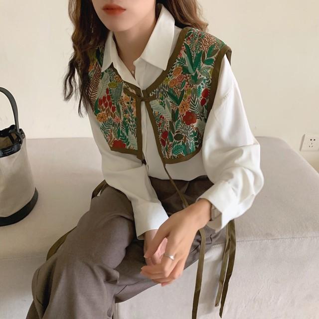 Shirt vest set KRE753