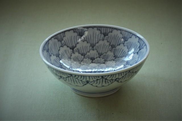 牡丹花弁紋浅小鉢