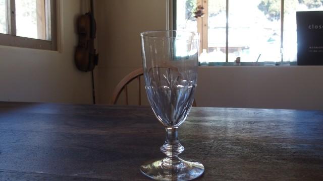 フランス製 クリスタルワイングラス