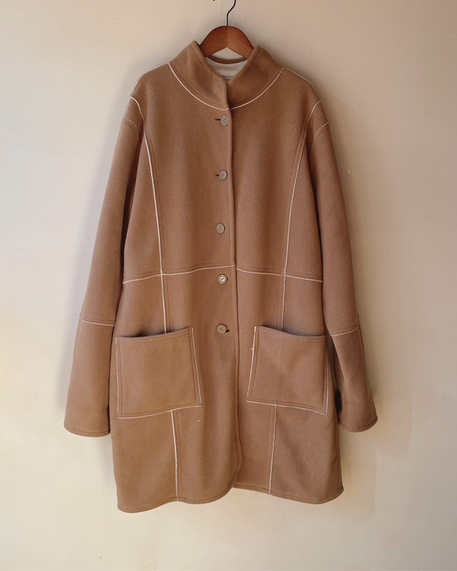 vintage oversized reverseble coat