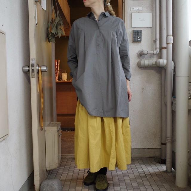 (g)グラム COTTON DUMP CLOTH TUNIC