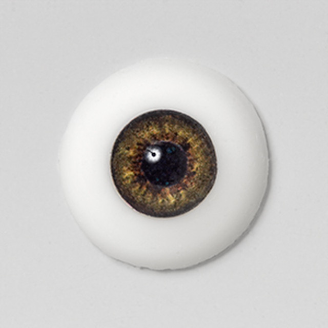 Silicone eye - 21mm Chestnut
