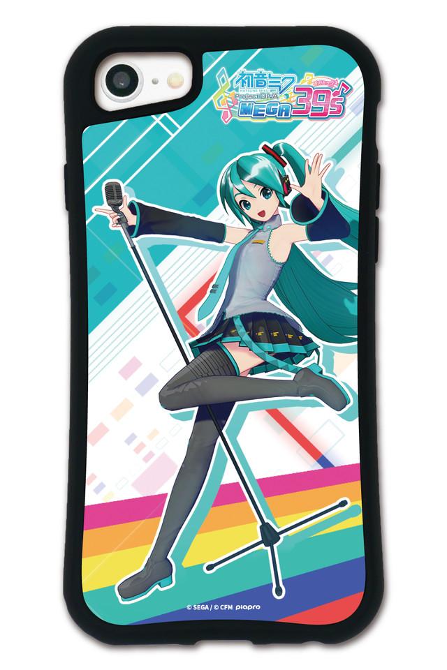 初音ミク MEGA39's WAYLLY(ウェイリー) iPhone 8 7 XR XS X 6s 6 Plus XsMax対応!_MK_