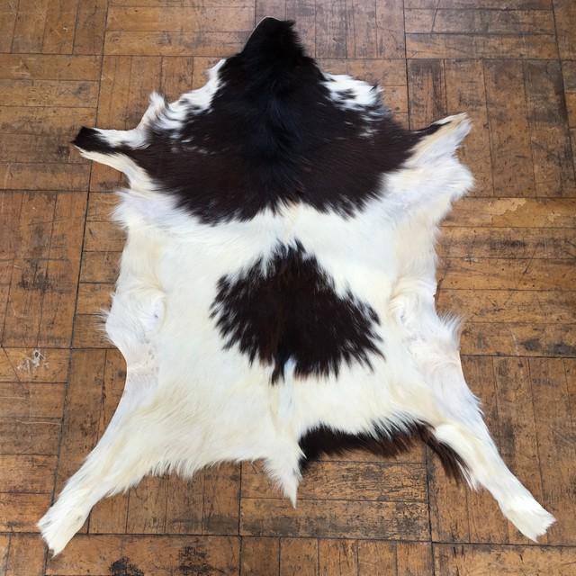 仔牛のヘアカーフラグ 天然色