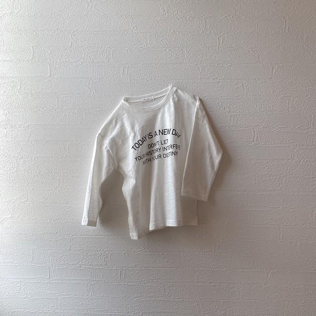 logo long sleeves kids