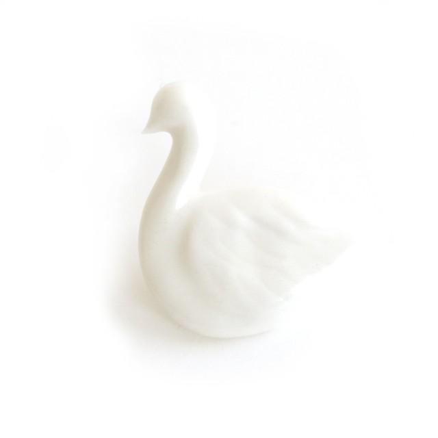 白鳥ピンブローチ (po-to-bo)