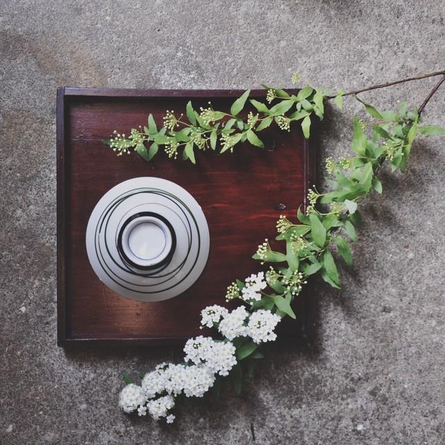【レトロ飯茶碗】薄紅 格子柄 昭和レトロ デッドストック