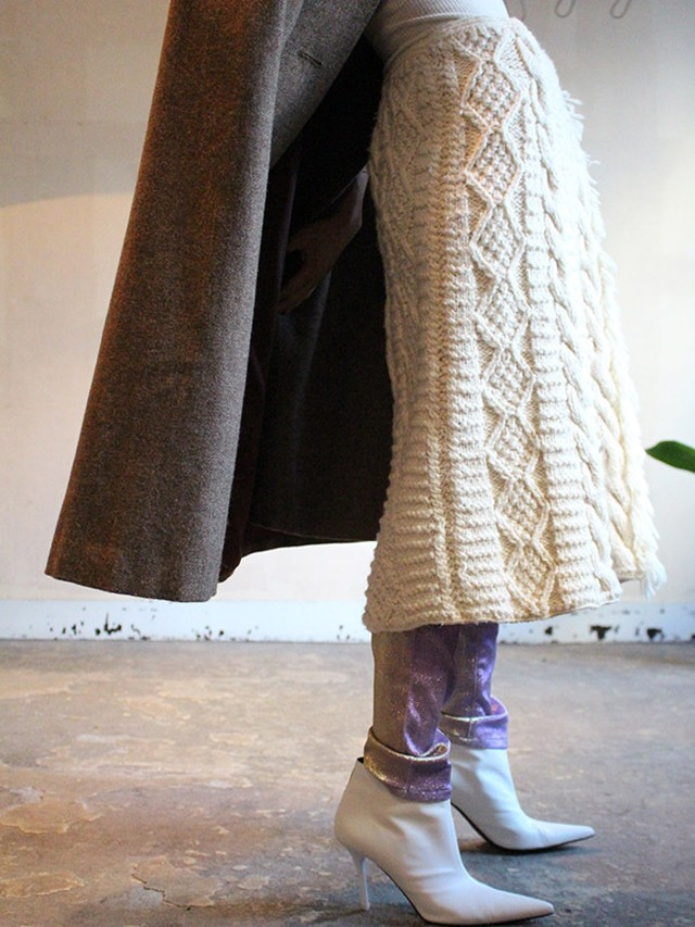 70s  knit skirt
