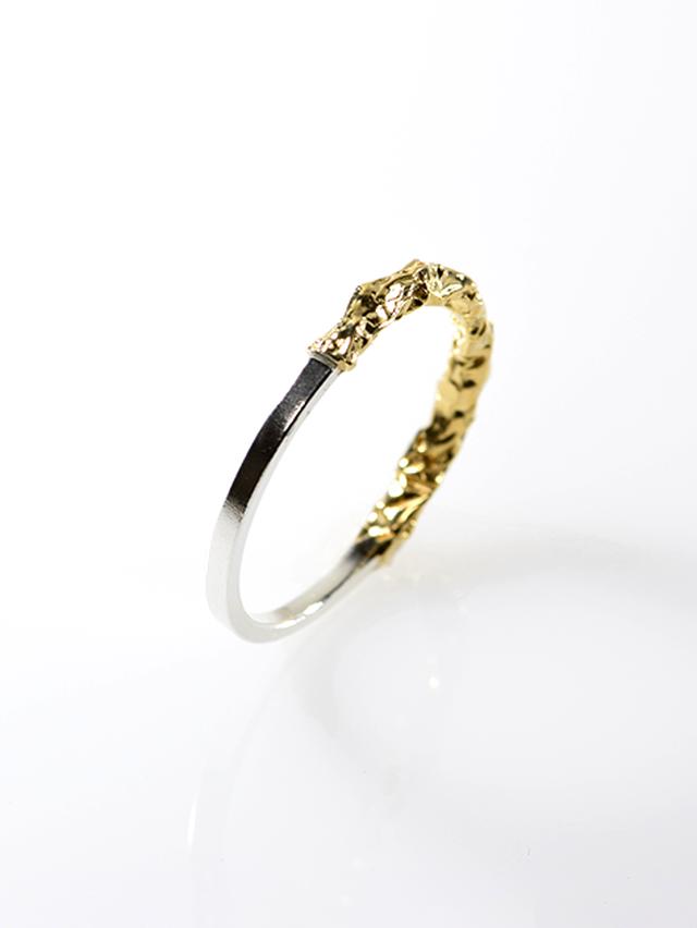 [リング] crumpled ring / Type1 Silver