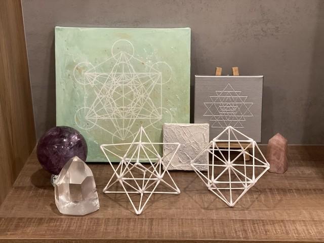 神聖幾何学綿棒ワークショップ基礎編③