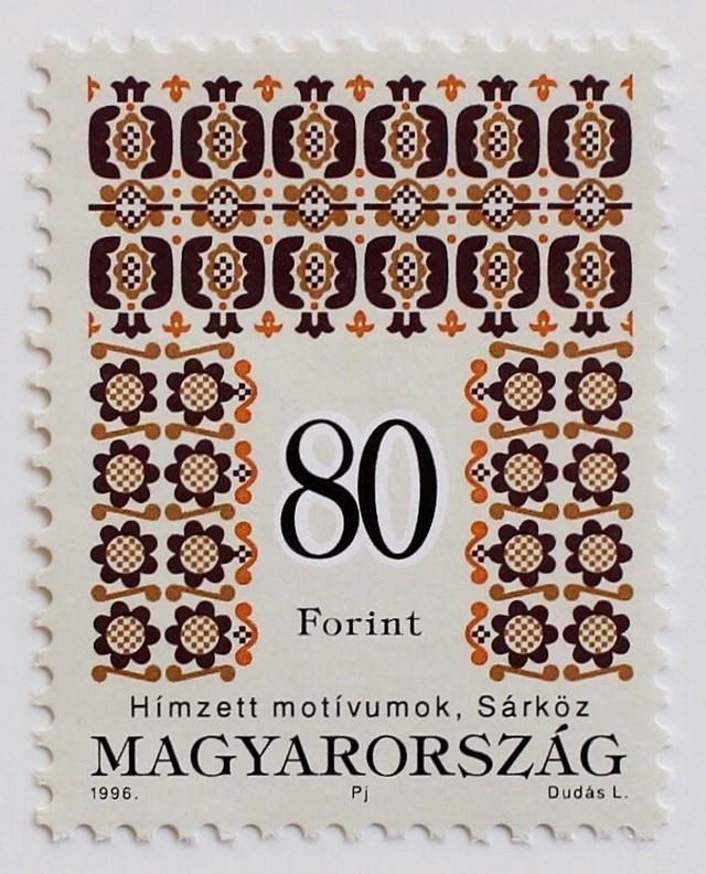 刺繍 19F  / ハンガリー 1994