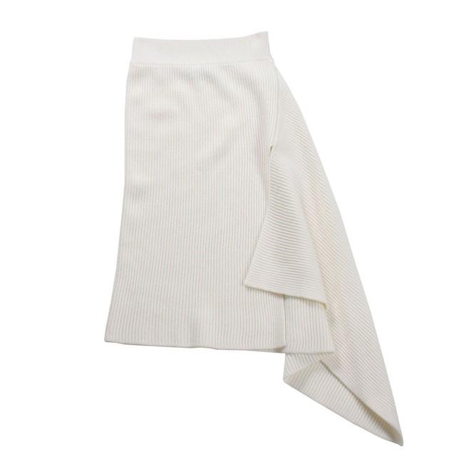 MONSE Ivory Knit Skirt SIZE;XS