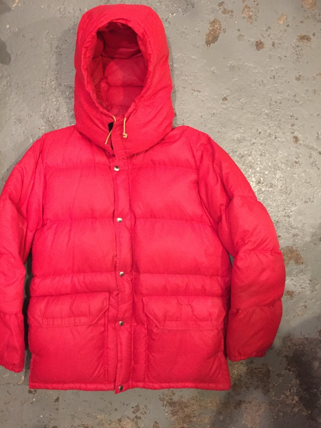 THE NORTH FACE 1970s DOWN JACKET WITH HOOD