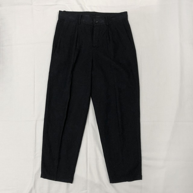 ORGANIC COTTON TWILL TAPERED PANTS 【受注生産】