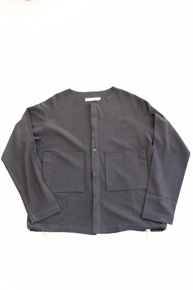 ippei takei 【イッペイタケイ】 shirts jacket (dark navy)