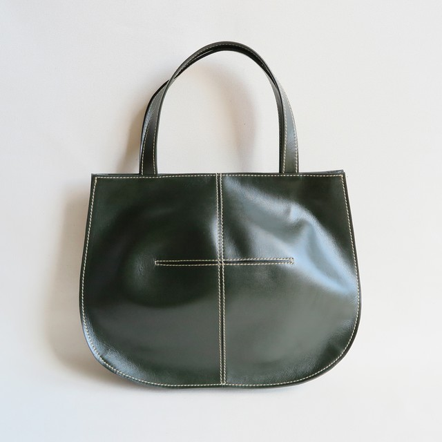 Balloon tote bag D.GREEN