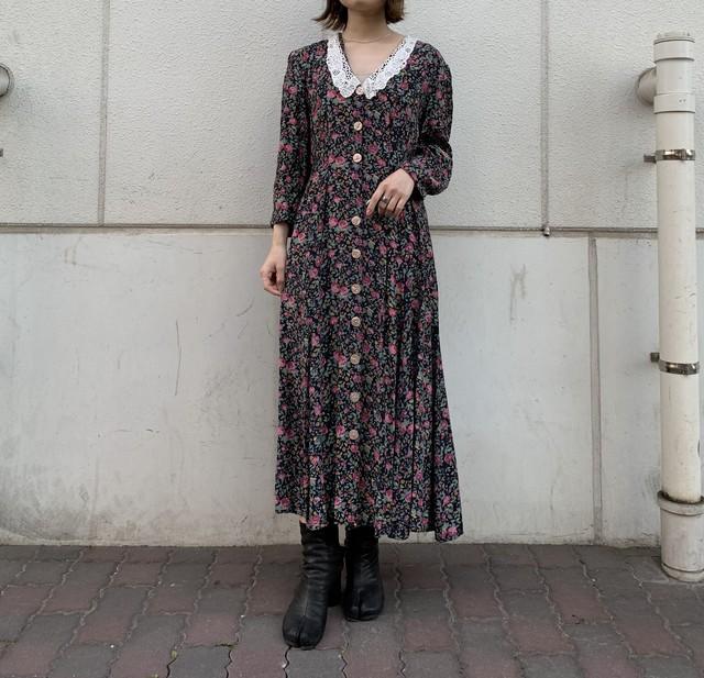 """""""JONATHAN MARTIN"""" vintage rayon dress"""