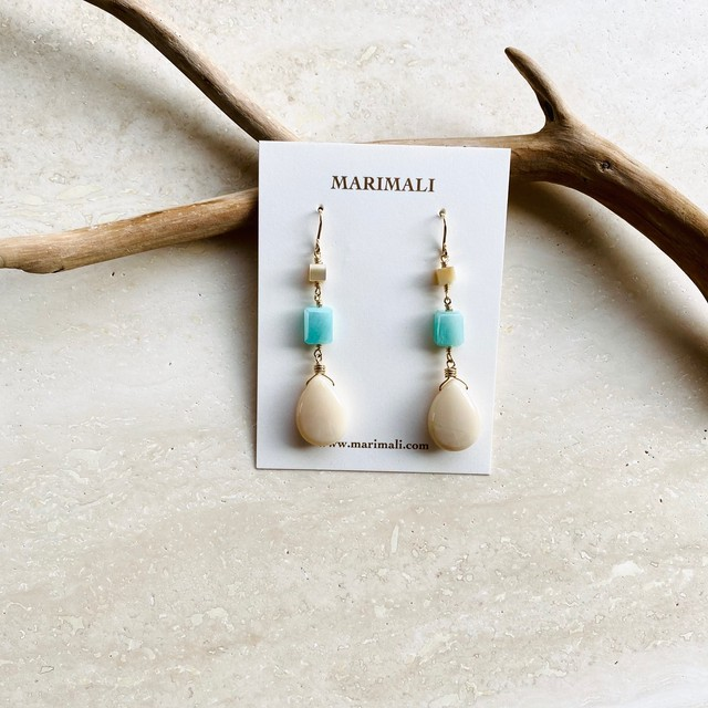 Amazonite and African opal