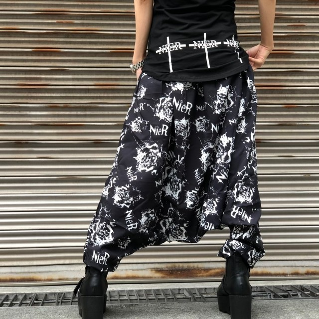 Black sarrouel pants