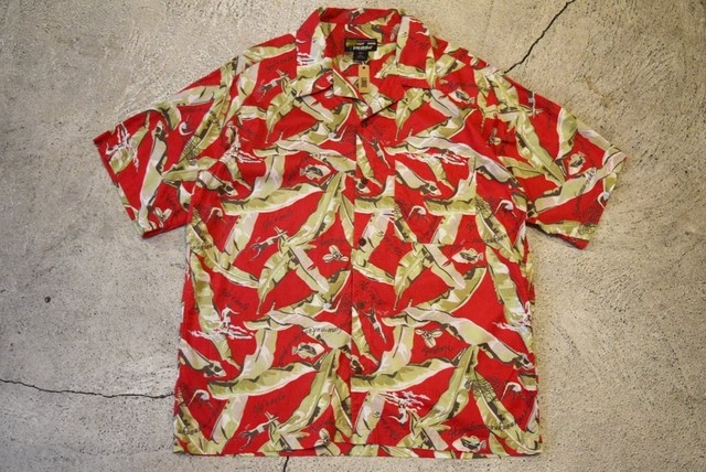 USED 90s pataloha Shirt -Large S0497