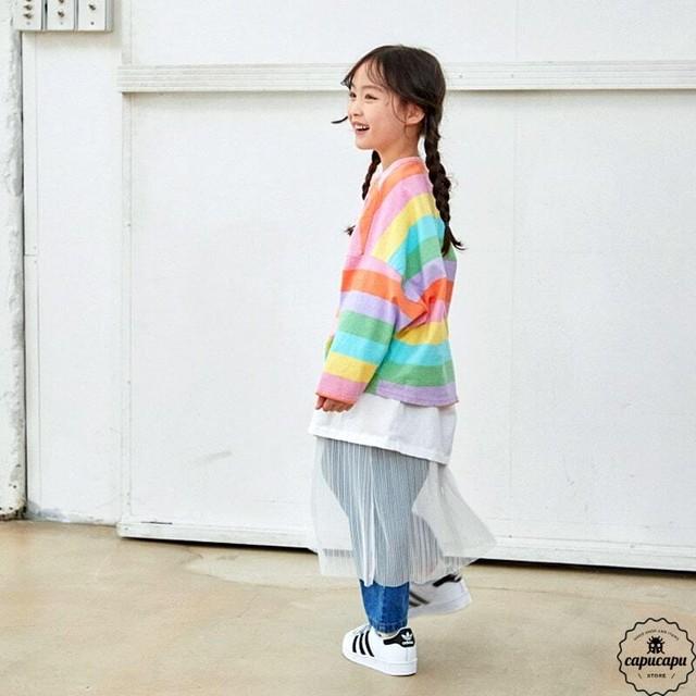 «予約» skirts 2colors レイヤードスカート