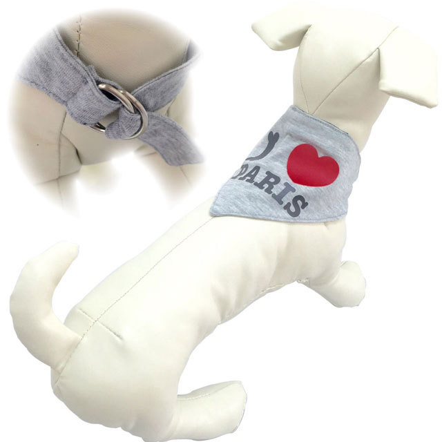 8。PetitBijou【正規輸入】犬 服 バンダナ マフラー イエロー 秋 冬物