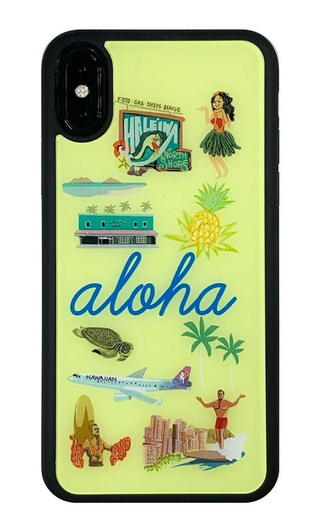 aloha アクリルパネルケース